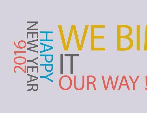 【WE BIM IT OUR WAY! 】2016賀跨年