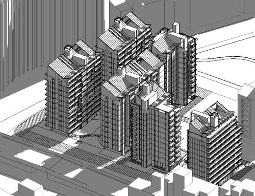 台北市南港區小彎基地公共住宅競圖案